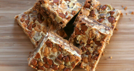 Spiced dolly bars