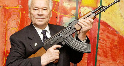 Kalashnikov dies: 'I sleep well,' said the designer of the AK-47 (+video)
