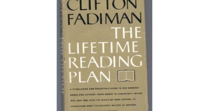 New Year's Day: When making resolutions, remember ambitious reader Clifton Fadiman