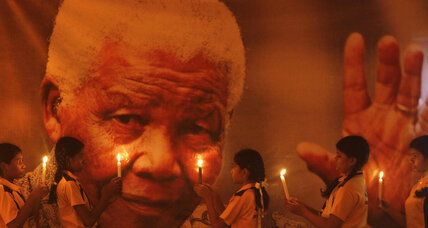 Nelson Mandela and 'the foundations of one's spiritual life'