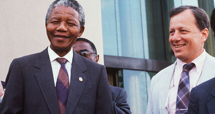 Nelson Mandela at the Monitor: A memorable visitor on a quiet Sunday