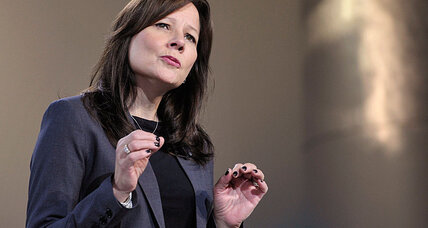 Mary Barra: The first woman to lead a major U.S. automaker