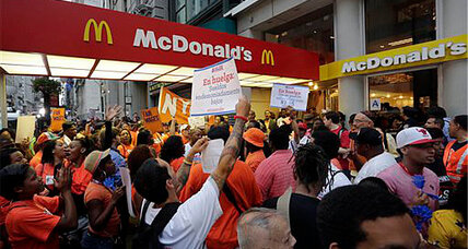 Fast-food strikes and protests planned for 100 US cities