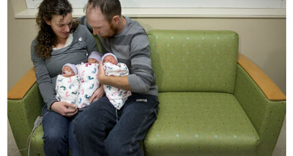 Identical triplets: A rare California birth