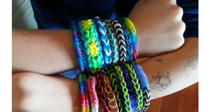 Rainbow Looms: Kids crafts that parents like