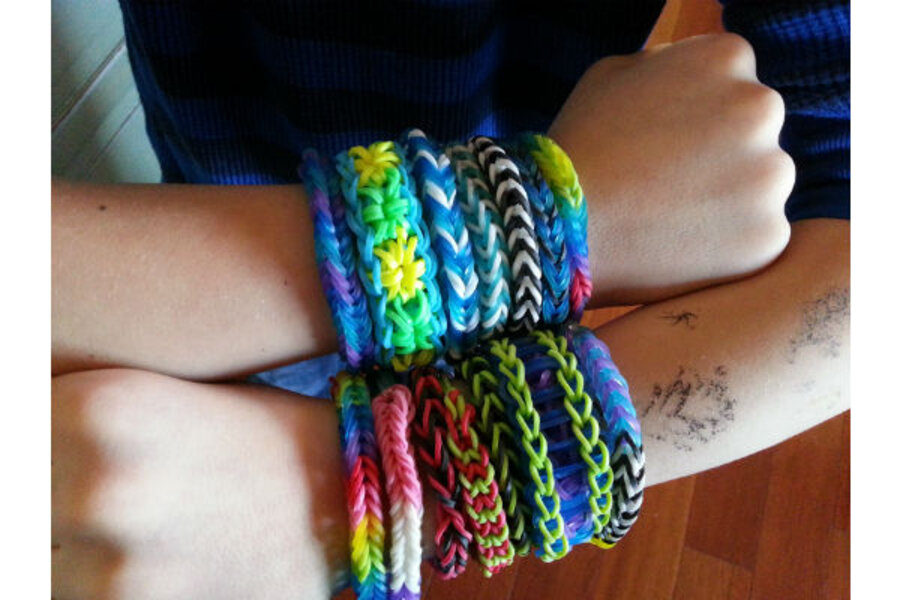 Rainbow Looms Kids Crafts That Parents Like Csmonitor Com