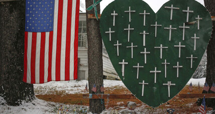 For Newtown's gun-control families, a year of mixed results (+video)