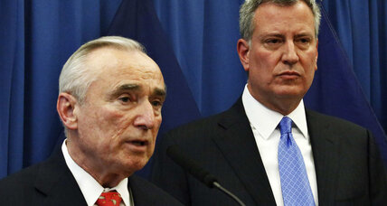 Bill Bratton back in the saddle as NYPD commissioner