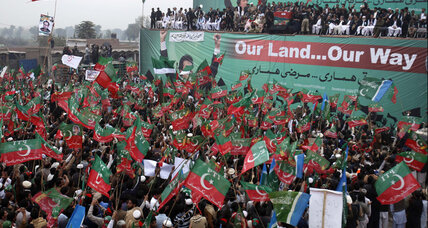 Pakistani protests threaten NATO supply lines to Afghanistan