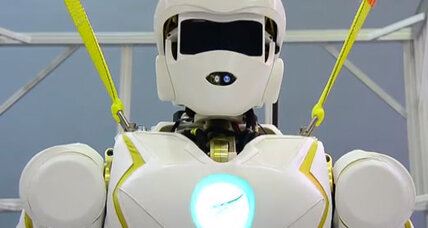Meet Valkyrie, the 'superhero' robot