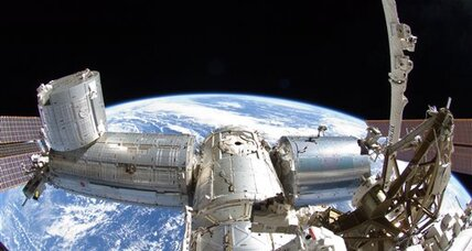 Space station malfunction could give astronaut his Christmas wish