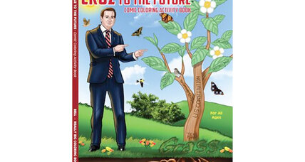 Texas senator Ted Cruz is the star of a bestselling coloring book