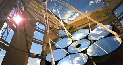 Mirrors for giant space telescope take shape