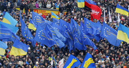 Ukrainian protests flare up over pivot away from Europe