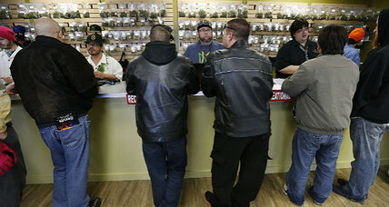 Pot shoppers celebrate legal recreational sales in Colorado