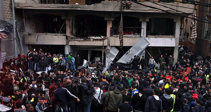 Beirut car bomb: Sunni payback for Hezbollah's help to Assad? (+video)