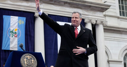 Are liberal hopes for New York Mayor Bill de Blasio too high?