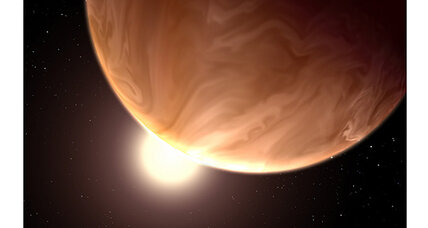 A chance of clouds on alien planets, says NASA