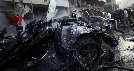 Five killed in apparent Beirut car bombing