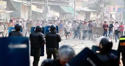 Cambodian police kill three as government seeks to quell labor unrest