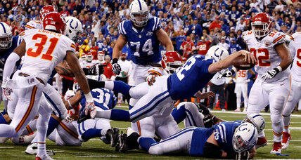 With 'Luck Fumble,' Andrew Luck shows how he's not Peyton Manning