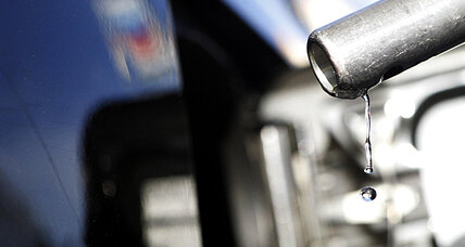 Why did consumer prices rise last month? Gas prices.