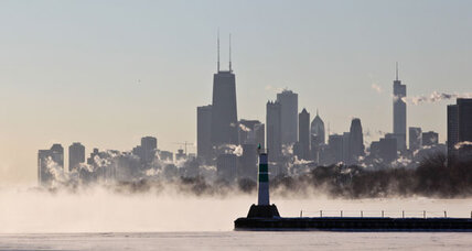 How frigid 'polar vortex' could be result of global warming