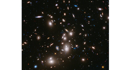 Hubble telescope peers into deep space, sees something wondrous