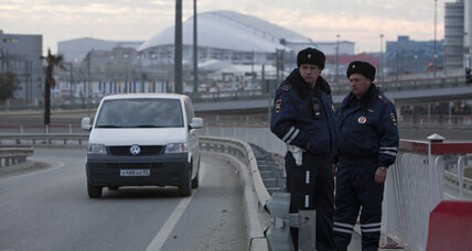 Kremlin locks down Sochi, but neighborhood still looks dangerous