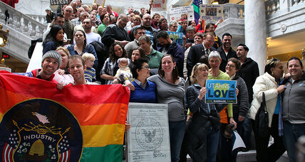 US recognizes Utah same-sex marriages: What's behind Holder's unusual move?