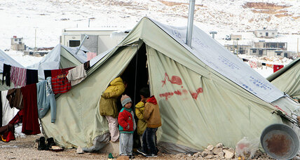 Israeli youths help Syrians fight winter chills