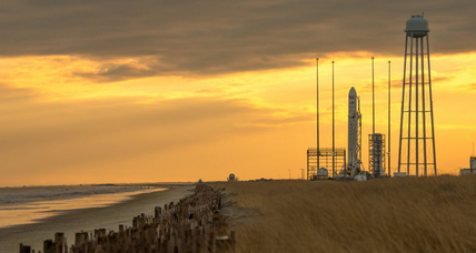 Wallops Island launch sends gifts, ants to space station