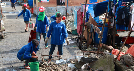 Ample aid for Philippine typhoon survivors?