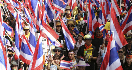 Thailand's anti-government protesters plan to shut down Bangkok Monday