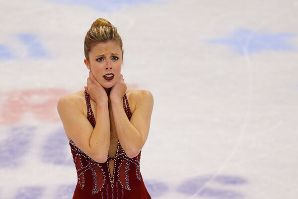Unforgettable U S Olympic Female Figure Skaters: Olympic Figure Skating Controversy? Ashley Wagner Makes