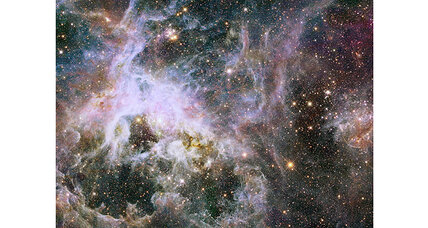 Hubble telescope snaps spectacular images of Tarantula Nebula