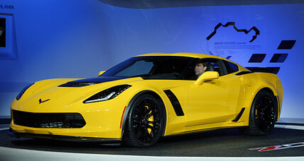2015 Corvette Z06 first look revealed at Detroit Auto Show