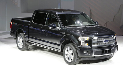 2015 Ford F-150 pickup goes aluminum at Detroit Auto Show (+video)