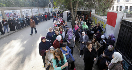 Egyptians vote 'yes' in referendum - but what are they approving? (+video)