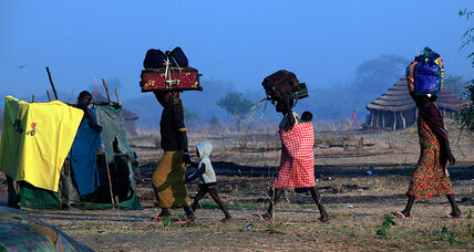 The South Sudan strife – followed by satellite (+video)