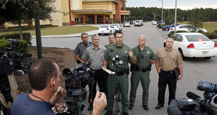 Florida theater shooting: Will suspect's age open door to 'stand your ground'? (+video)