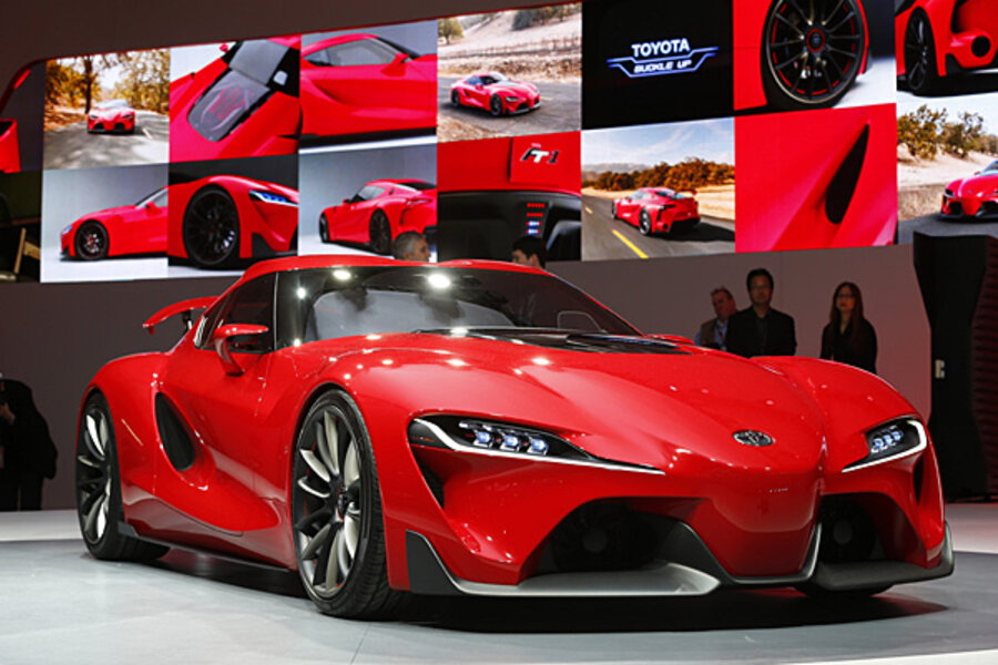 Toyota FT-1 concept: a Supra replacement? - CSMonitor.com
