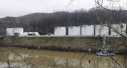 Pregnant women, water don't mix in W.Va.