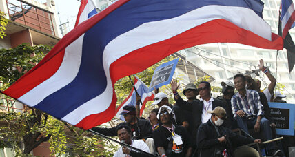 Are Thailand's antigovernment protests waning?