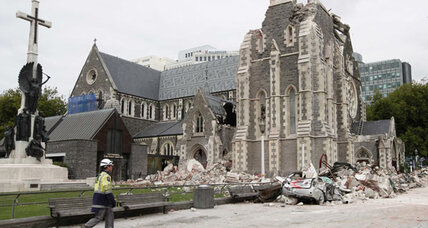 Christ Church Cathedral a flashpoint for quake-hit New Zealand town