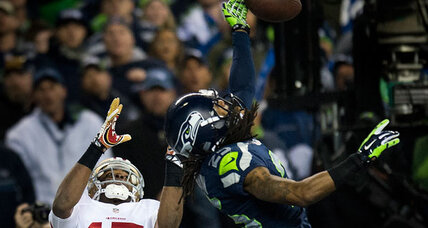 NFC championship game: brutal and beautiful as Seahawks win