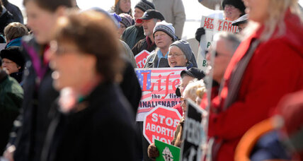 41 years after Roe v. Wade, abortion foes undaunted (+video)