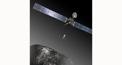 Deep-space comet hunter awakes from hibernation, just a bit behind schedule (+video)