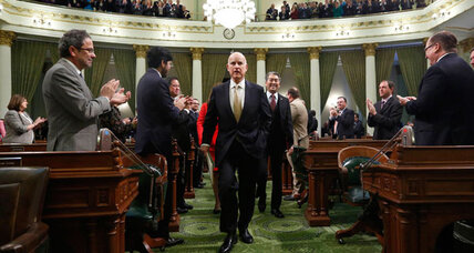 Gov. Jerry Brown tells Californians why he's irreplaceable (+video)