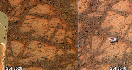 Rock mysteriously appears on Mars, looks like doughnut